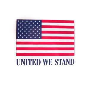 American Flag Sticker   United We Stand Patio, Lawn & Garden