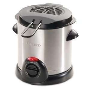 Finest By Presto Stainless Steel Electric Deep Fryer