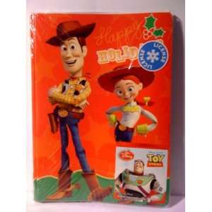 6 Disneys Pixar Toy Story Holiday Cards with Envelopes