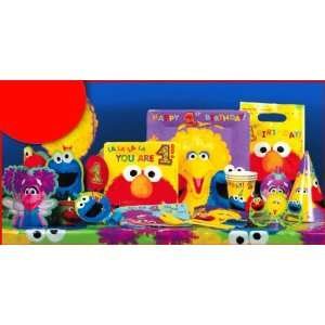 Sesame Street Babies First Birthday Deluxe Birthday Party Kit [Toy