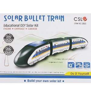 Educational Assembly Solar Powered Bullet Train Toy Kit