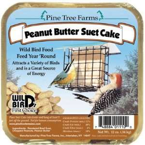 Farms PTF1110/421 Suet Peanut Butter Cake Bird Food Patio, Lawn