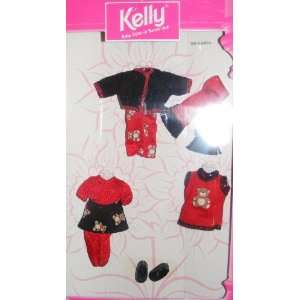 Kelly Doll Fashion Avenue Kelly (1998) Red & Black Teddy