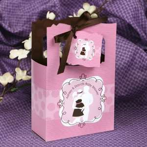 Girl   Classic Personalized Baby Shower Favor Boxes Toys & Games