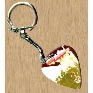 Led Zeppelin 2 Premium Guitar Pick Keyring Musical Instruments