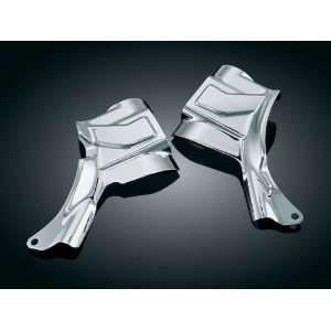 Kuryakyn 7831 Neck Covers For Harley Davidson FL Softails Automotive
