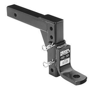 Hidden Hitch 80414 14 Adjustable Trailer Ball Mount