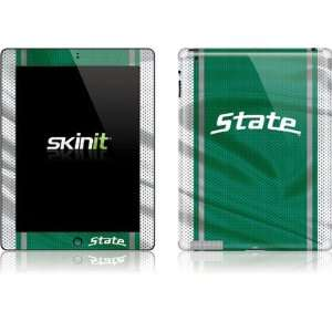 Michigan State University Green Jersey skin for Apple iPad