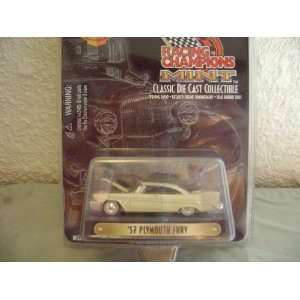 Racing Champions Mint Series 1957 Plymouth Fury Toys