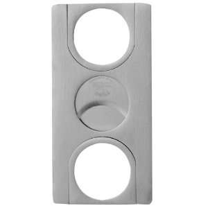 Stainless Steel Euro Double Guillotine Cigar Cutter
