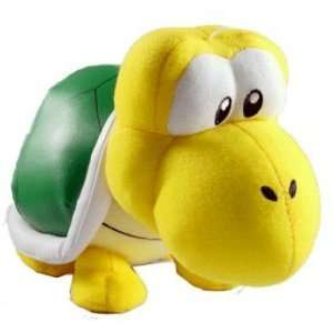 Nintendo Super Mario Brothers 10 Koopa Troopa (crawling) Plush