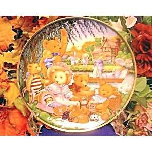 Franklin Mint Teddy Bear Picnic Plate