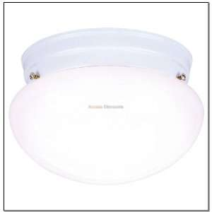 Westinghouse 66699 1 Light White Finish Ceiling Light