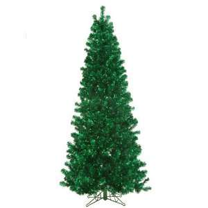 7 Green Paradise Tinsel Artificial Christmas Tree with