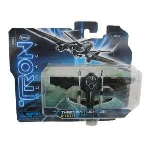 Tron Legacy 150 Diecast  Three Man Light Jet  Toys & Games