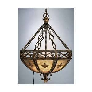 Fine Art Lamps 218142 Castile 38H 3 Light Pendant in Antique Gold