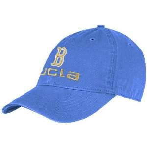 adidas UCLA Bruins Light Blue Team Logo Adjustable Slouch