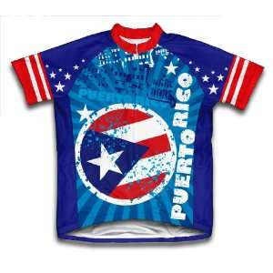 Puerto Rico Cycling Jersey for Men