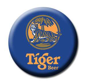 TIGER Beer Singapore Logo Collectibles Fridge Magnet